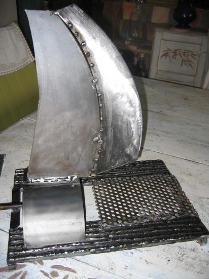 catamaran lampe metal